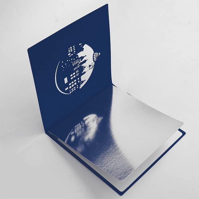 Корпоративные стильные открытки, рисунки
